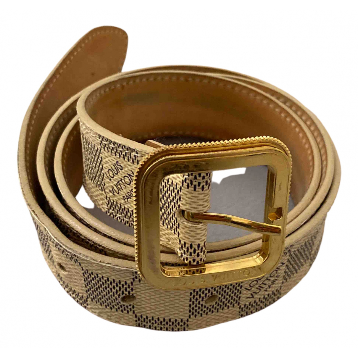Louis Vuitton N Cloth belt for Women 95 cm