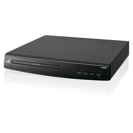 GPX DH300B 1080p Upconversion DVD Player with HDMI, One Size , Black
