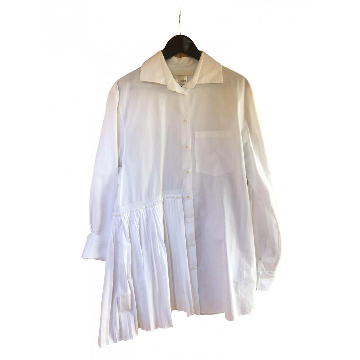Off-white \N White Cotton  top for Women M International
