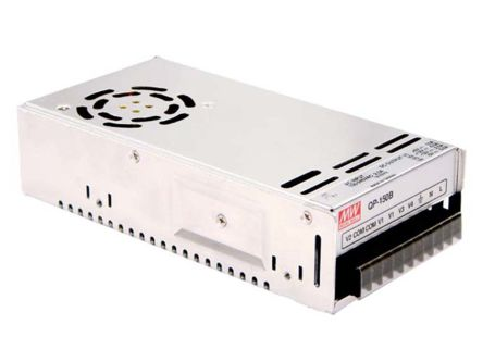 Mean Well , 150W Embedded Switch Mode Power Supply SMPS, ±5 V dc, ±12 V dc, Enclosed