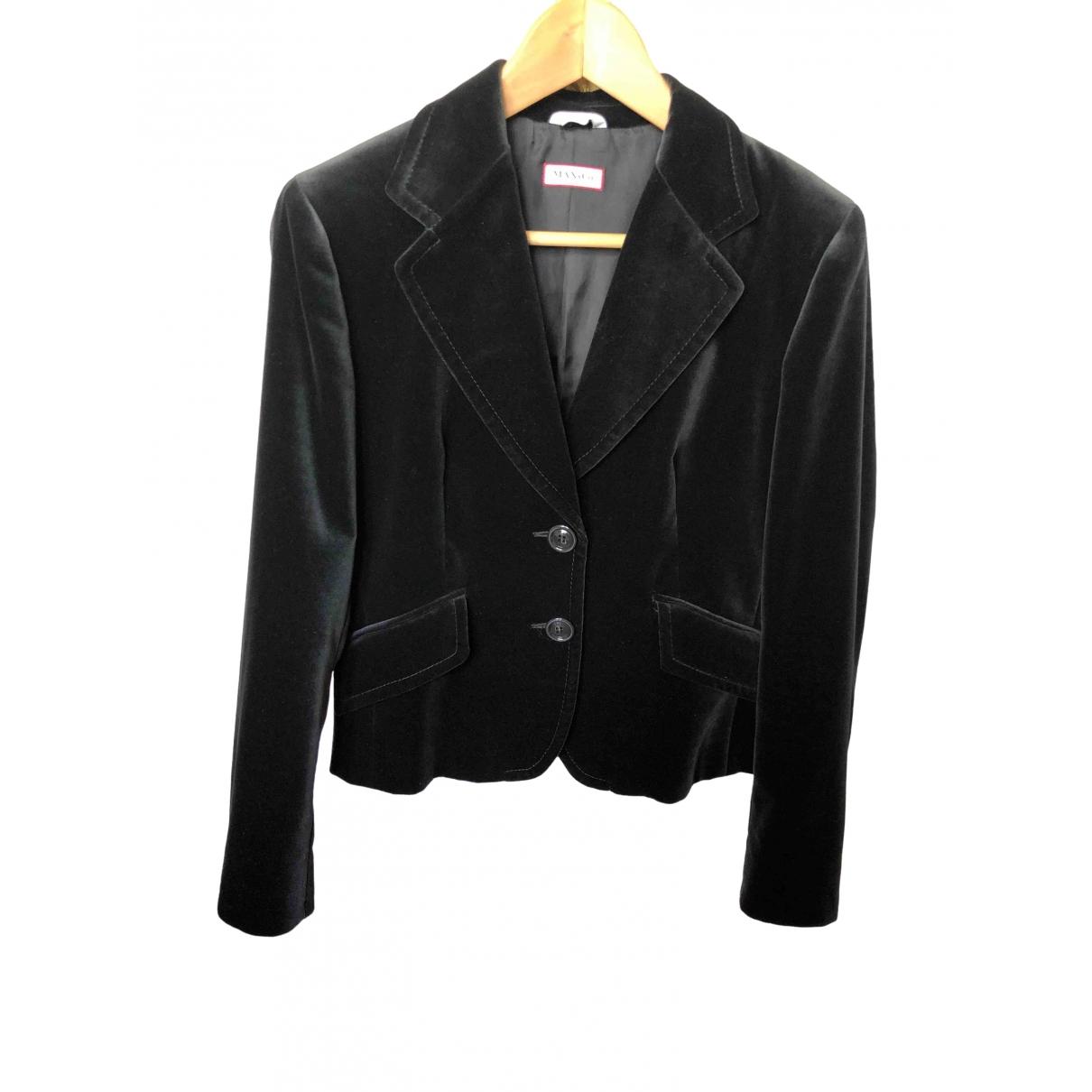 Max & Co \N Black Velvet jacket for Women 42 IT