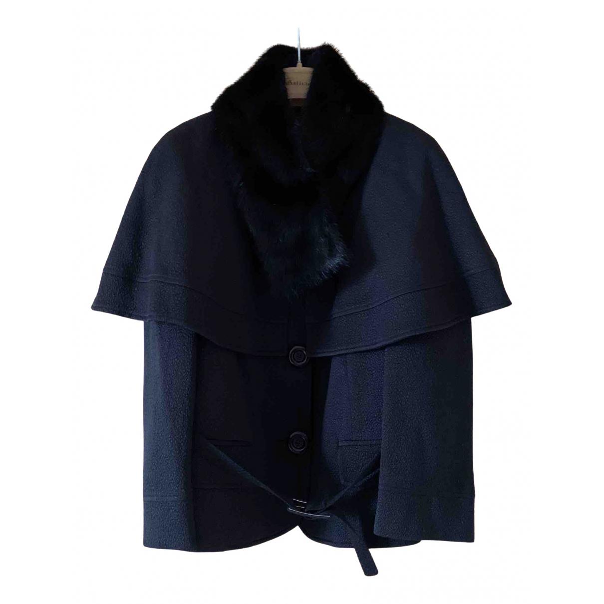 Galliano - Veste   pour femme en laine - noir