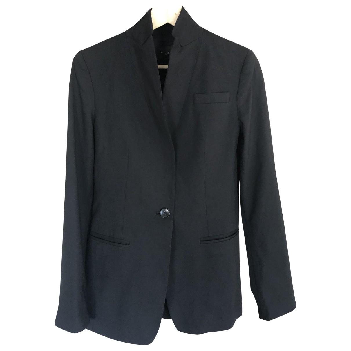 Club Monaco - Veste   pour femme en laine - noir