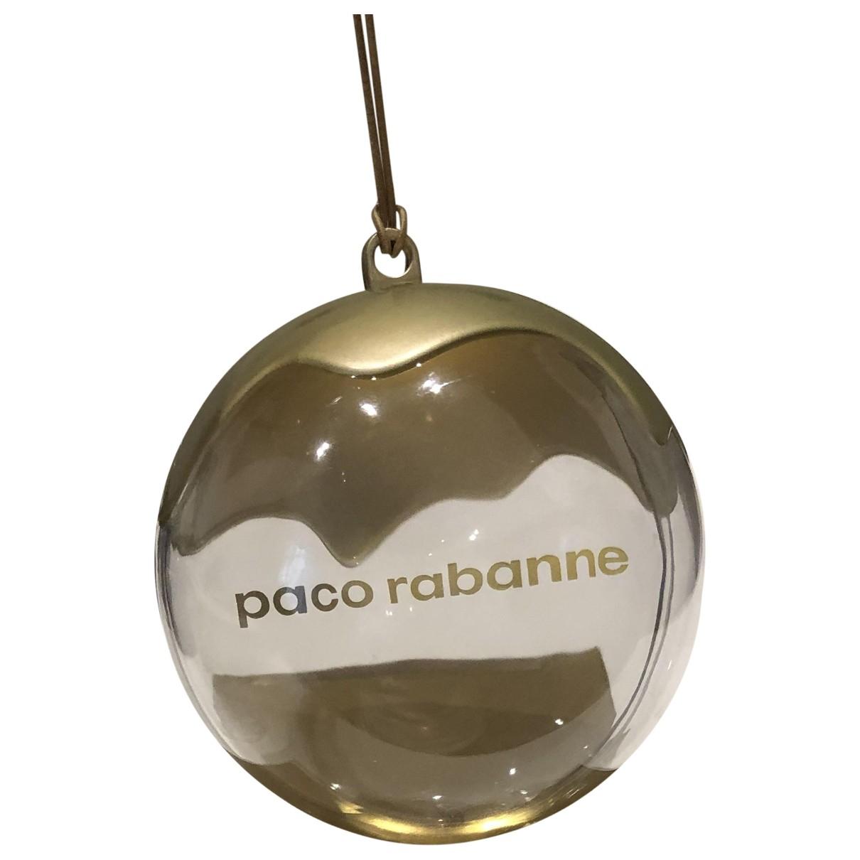 Paco Rabanne - Objets & Deco   pour lifestyle - dore