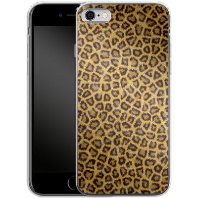 Apple iPhone 6 Silikon Handyhuelle - Leopard Skin von caseable Designs