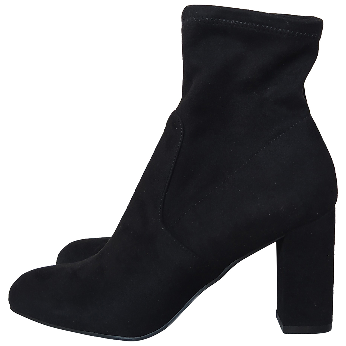 Steve Madden N Black Velvet Ankle boots for Women 37 EU