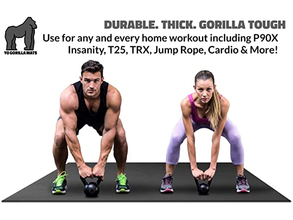 Gorilla Mats Premium Xl Exercise Mat