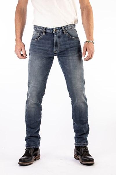 ROKKER Rokkertech Tapered Slim Jeans Motorista Azul L36/W33