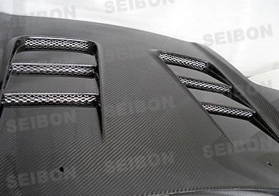 Seibon HD9201ACNSX-CW Carbon Fiber CW-Style Hood Acura NSX 92-01