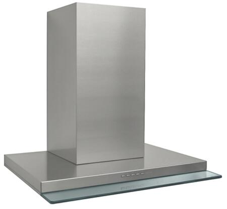 WL24VENICE 24 Venice Series Wall Mount Range Hood with 940 CFM  LED Lights  4 Speed Electronic Controls  in Stainless