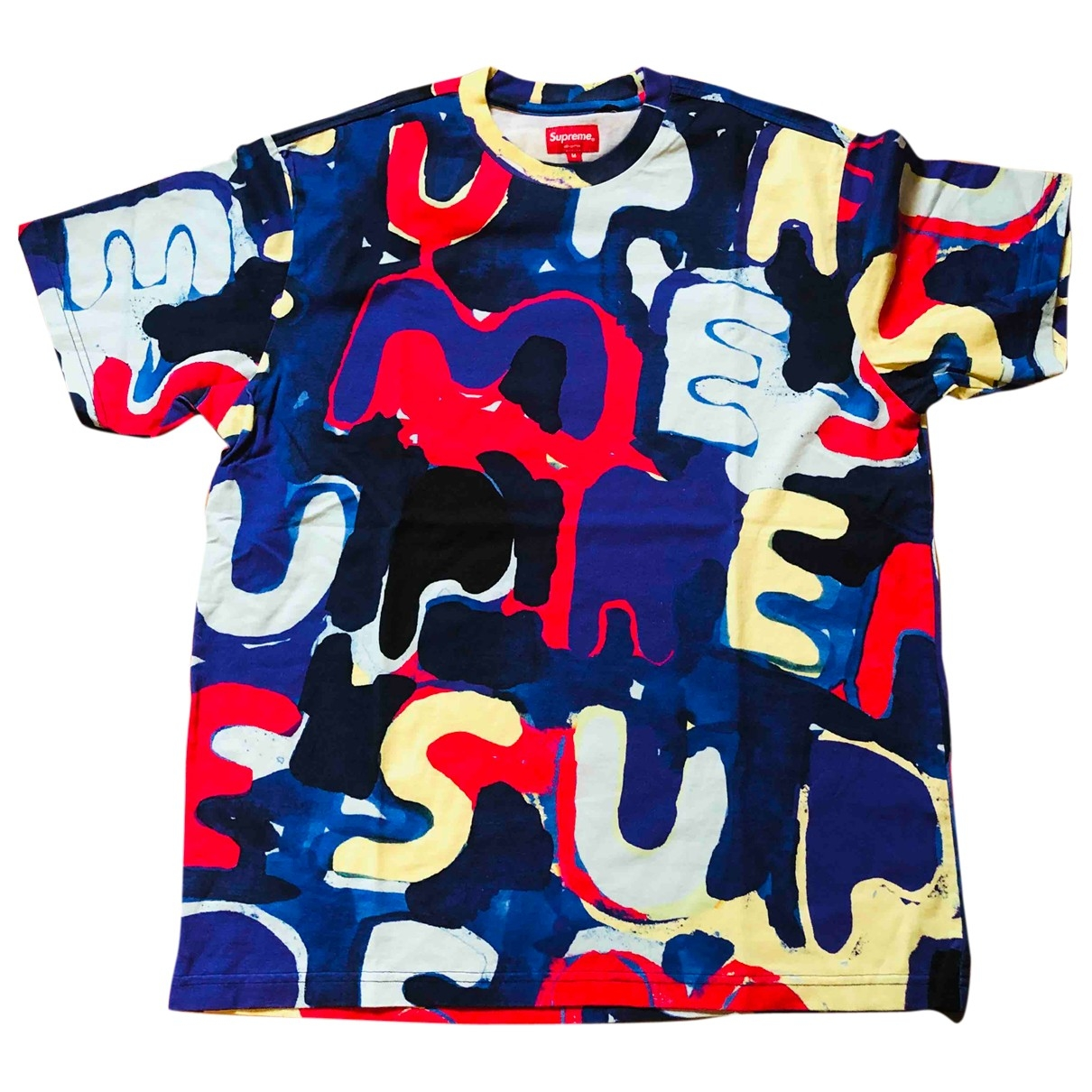 Supreme \N Multicolour Cotton T-shirts for Men M International