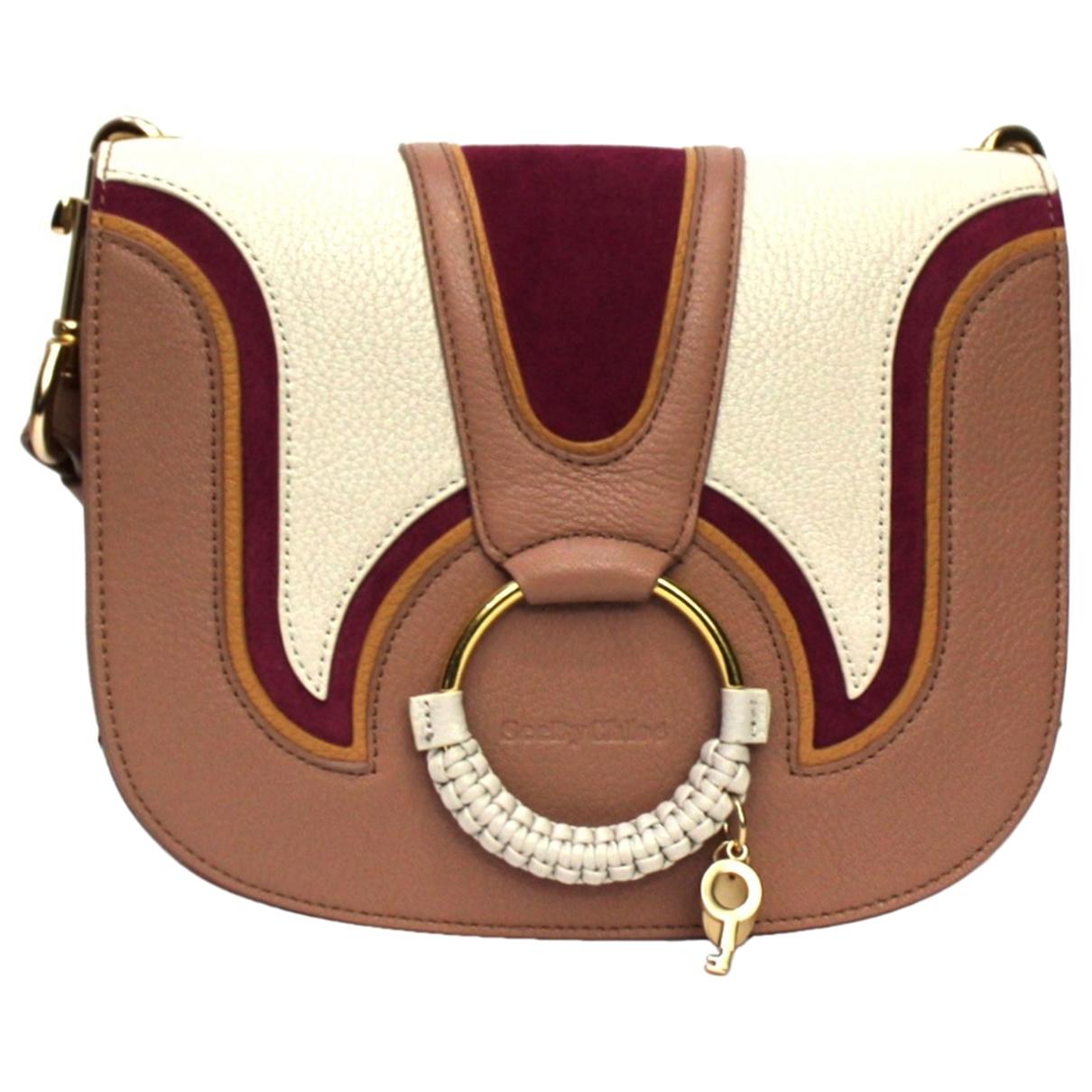 Chloe \N Handtasche in  Rosa Leder