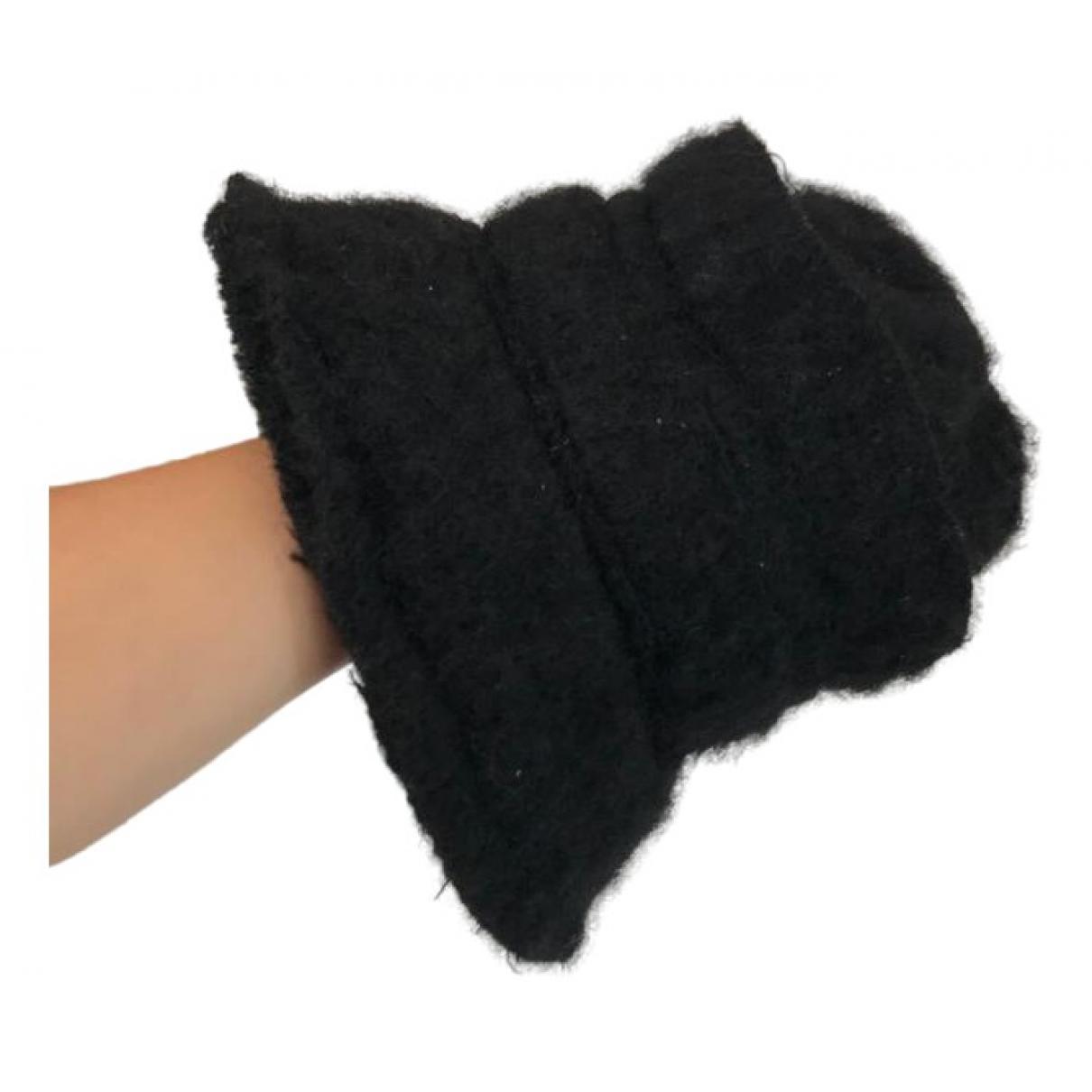 Julien David - Chapeau   pour femme en laine - noir
