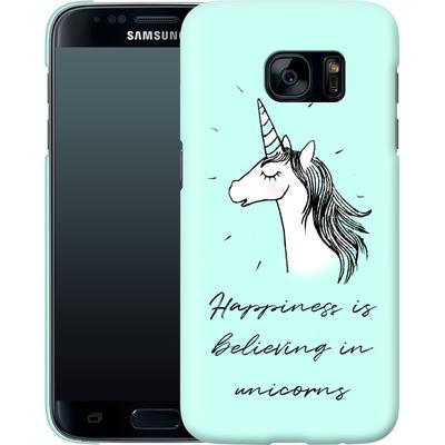 Samsung Galaxy S7 Smartphone Huelle - Believing von caseable Designs