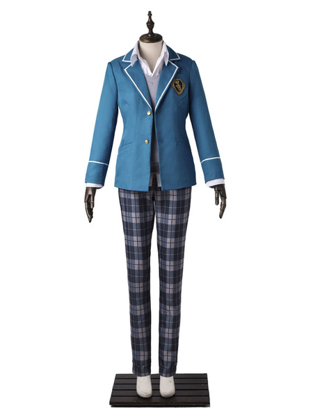Milanoo Ensemble Stars Knights Sakuma Ritsu Halloween Cosplay Costume