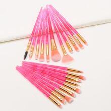 20 Stuecke Farbverlauf Make-up Buerste Set