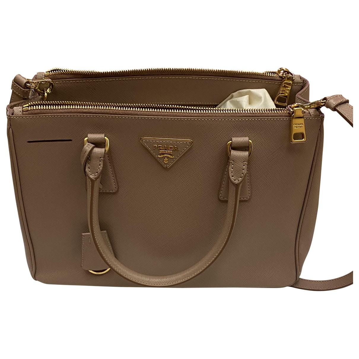 Prada Galleria Handtasche in  Rosa Leder