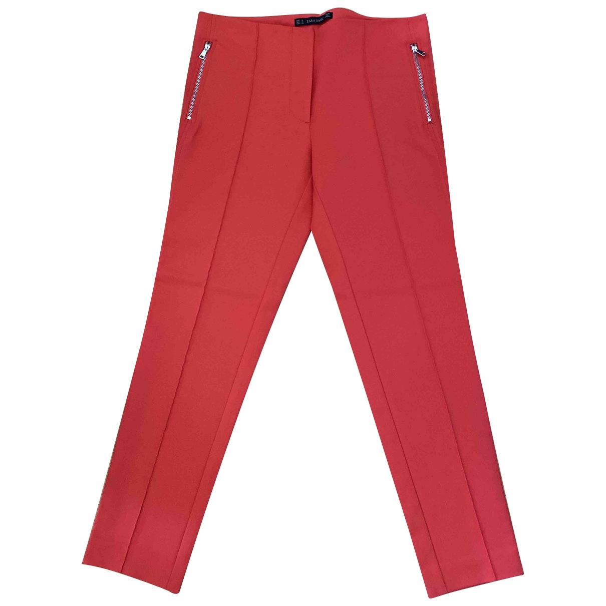 Pantalon pitillo Zara