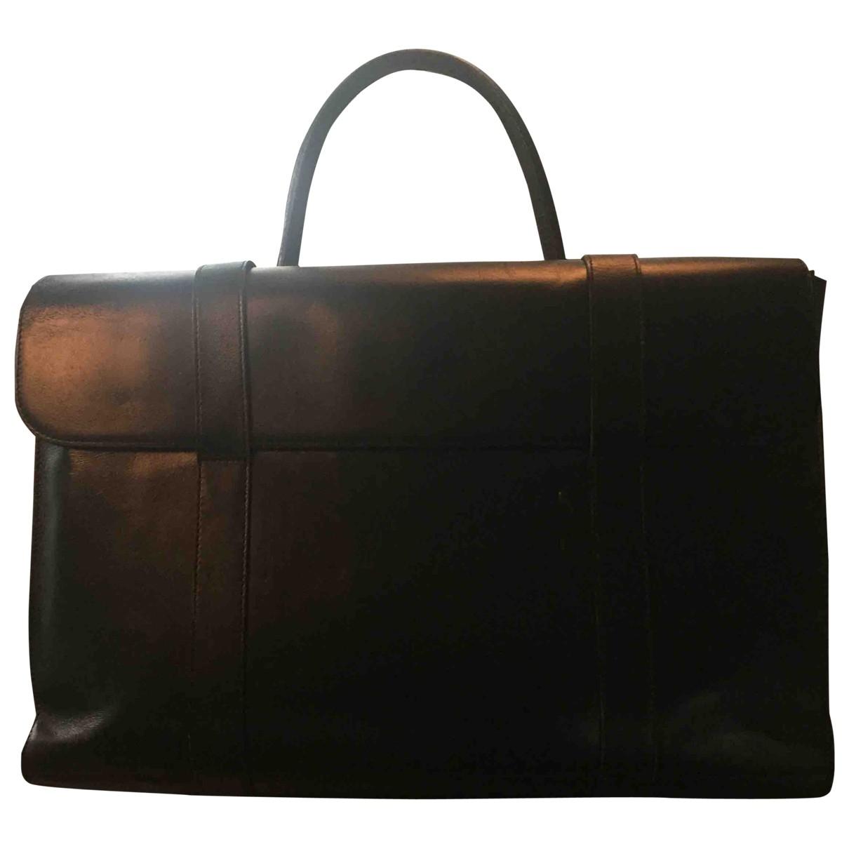 Montblanc - Petite maroquinerie   pour femme en cuir - noir