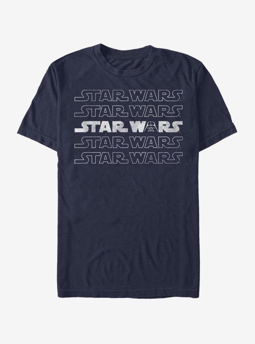 Star Wars Logo Darth Vader T-Shirt