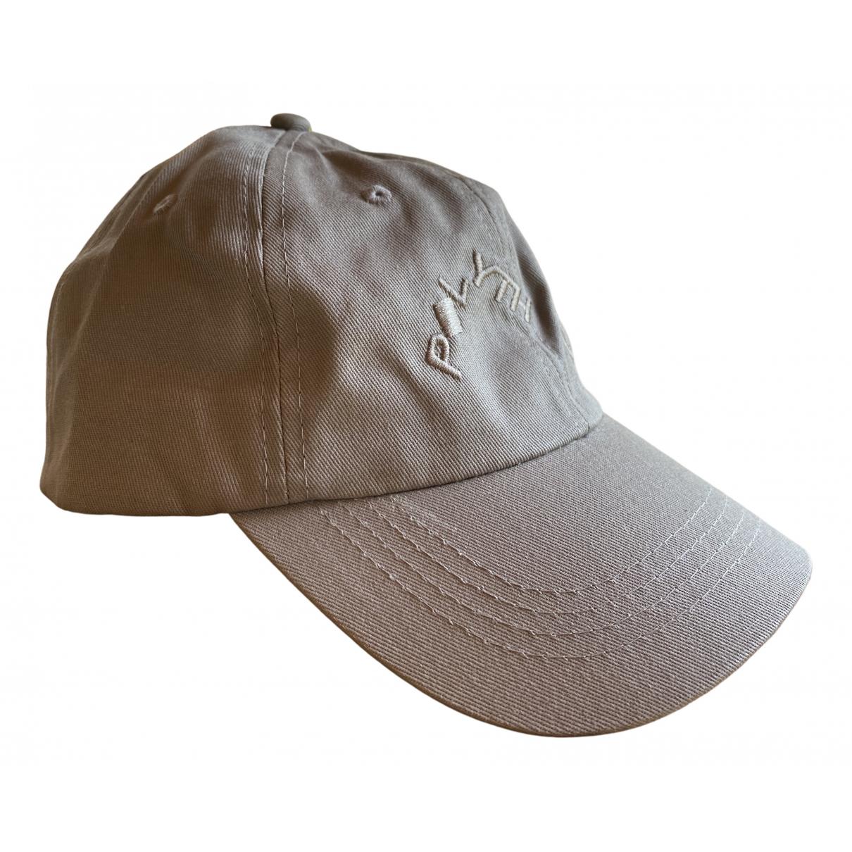Polythene* Optics - Chapeau & Bonnets   pour homme en coton - gris