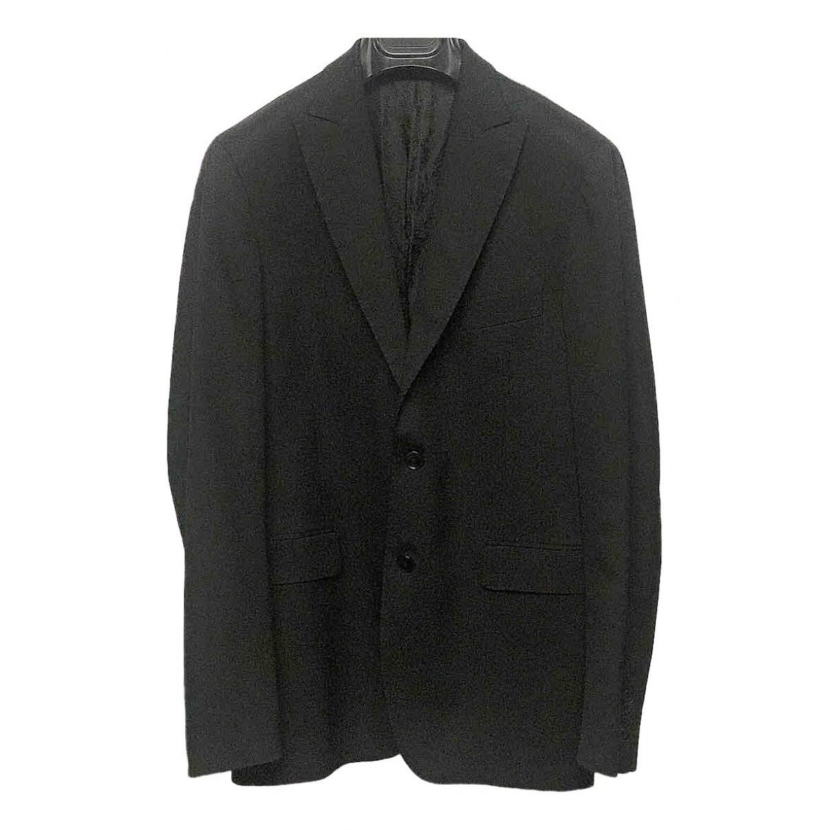 Tagliatore - Vestes.Blousons   pour homme en laine - noir