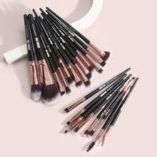 20 Stuecke Make-up Pinsel Set