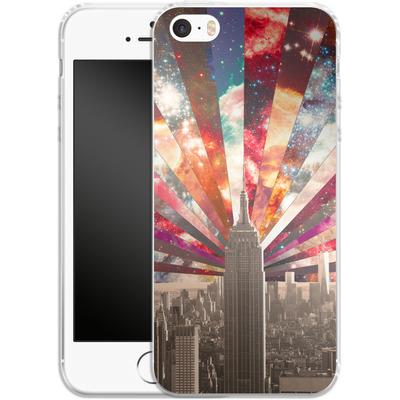 Apple iPhone 5s Silikon Handyhuelle - Superstar New York von Bianca Green