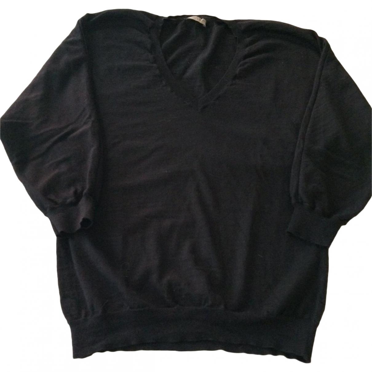 Bottega Veneta - Pull   pour femme en laine - noir