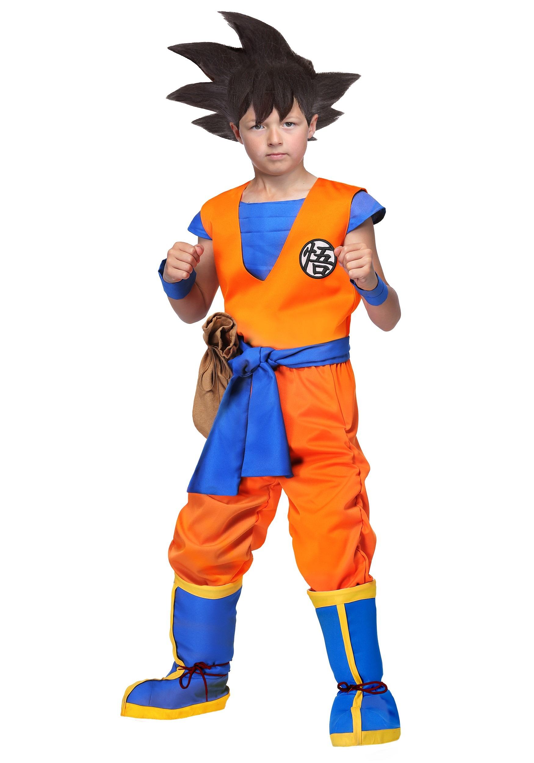 Authentic Dragon Ball Z Goku Costume for Kids