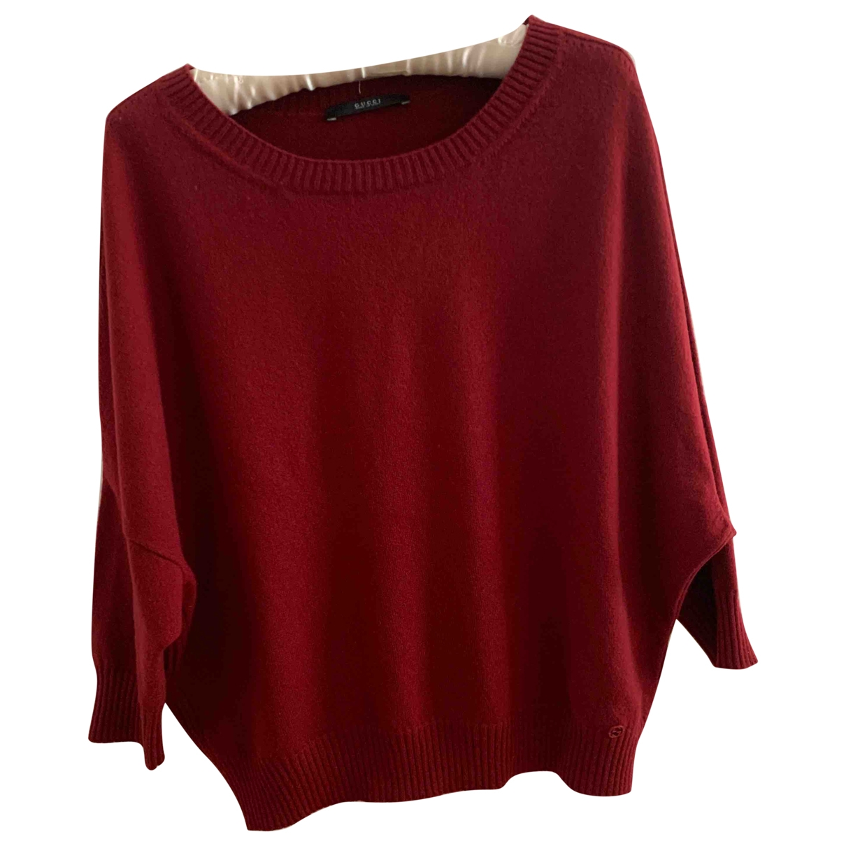 Gucci \N Burgundy Cashmere Knitwear for Women 40 IT