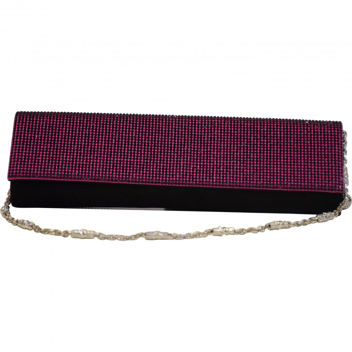 Rene Caovilla \N Purple Glitter handbag for Women \N