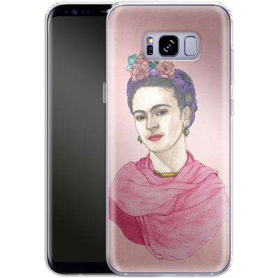 Samsung Galaxy S8 Plus Silikon Handyhuelle - Frida von Barruf