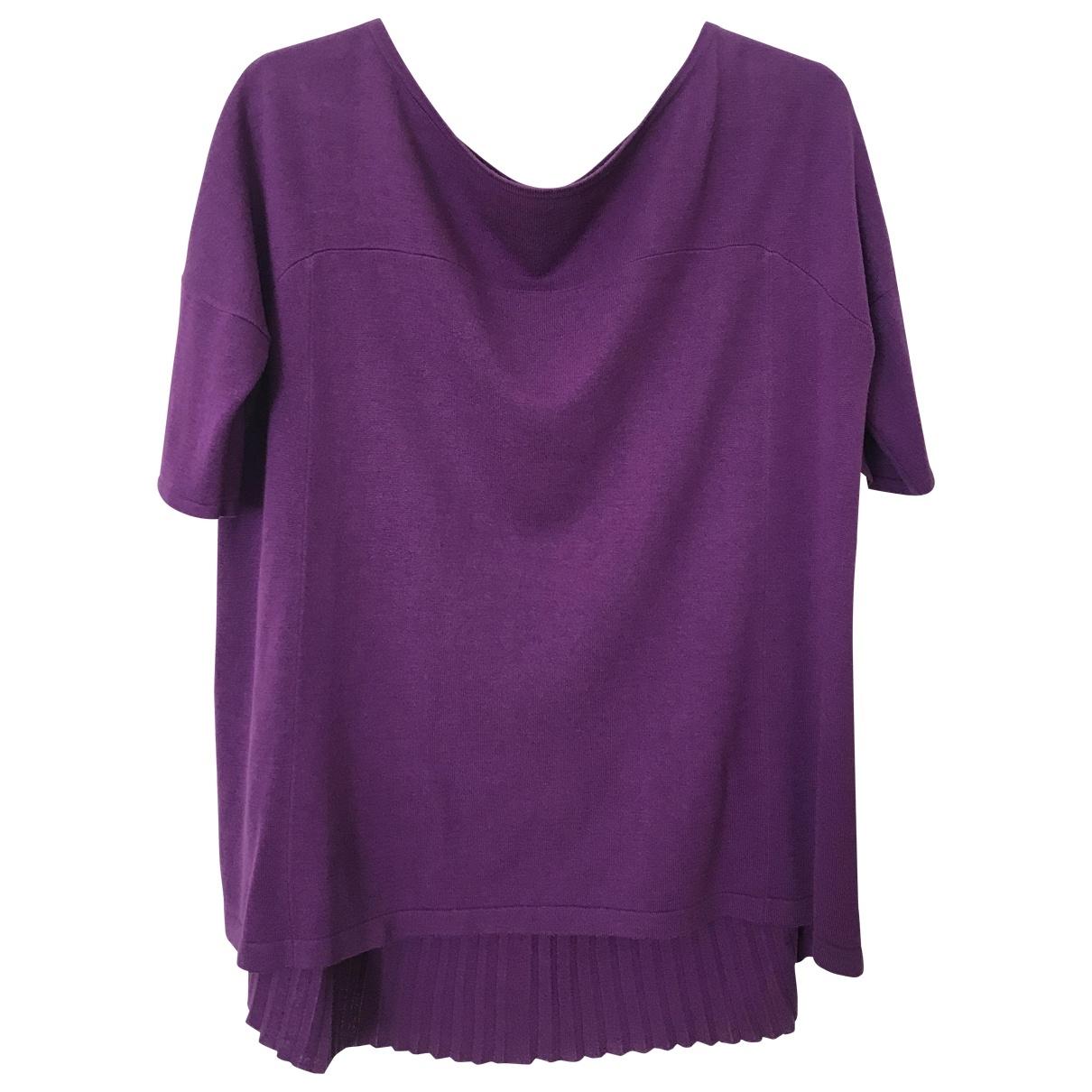 Max Mara \N Purple Silk  top for Women M International