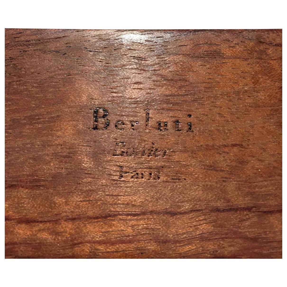 Berluti - Objets & Deco   pour lifestyle en bois - marron
