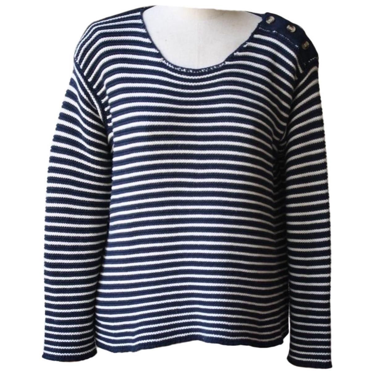 Autre Marque N Blue Wool Knitwear for Women M International