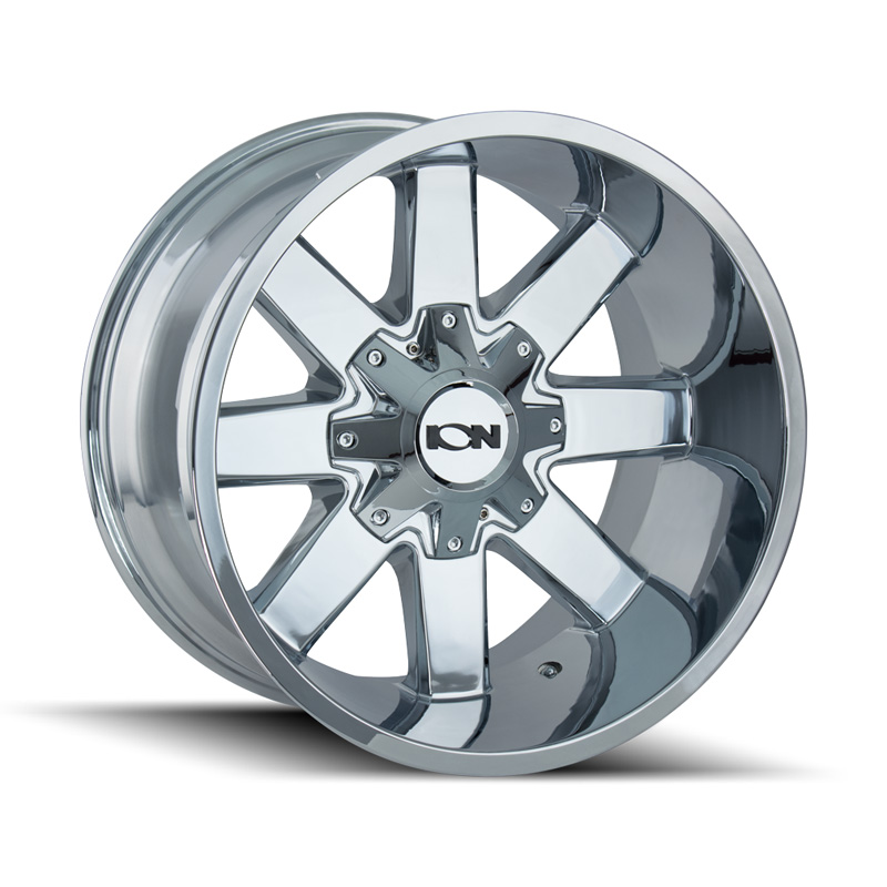 ION 141 Chrome 17x9 5x127 | 5x139.7 -12mm 87mm Wheel