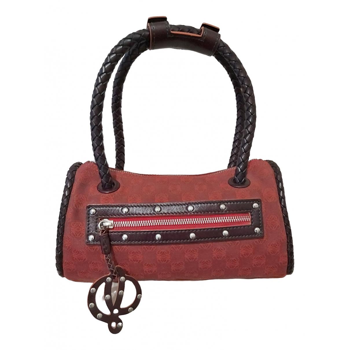 Loewe \N Red Cloth handbag for Women \N