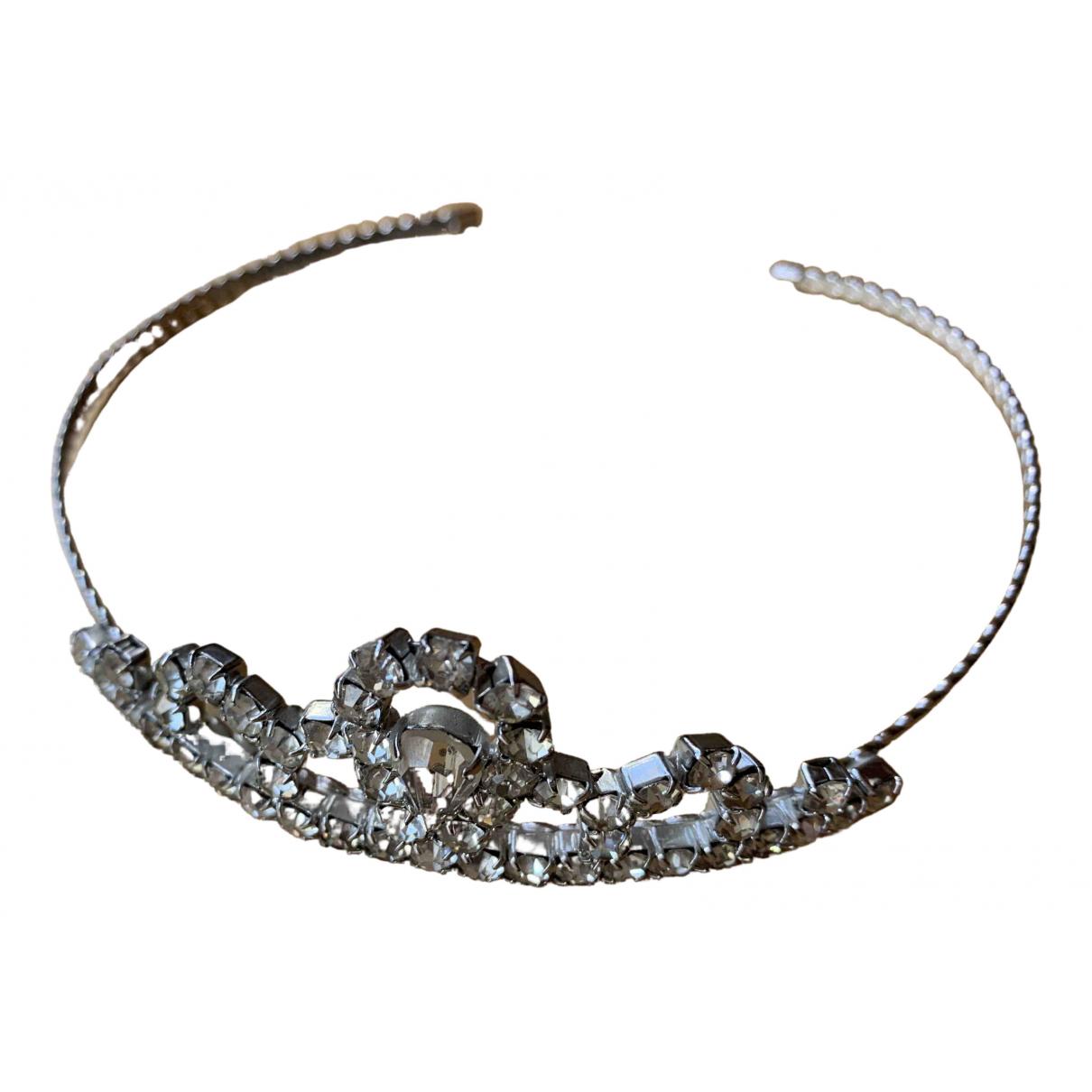 Ohne Titel \N Haarschmuck in  Silber Metall