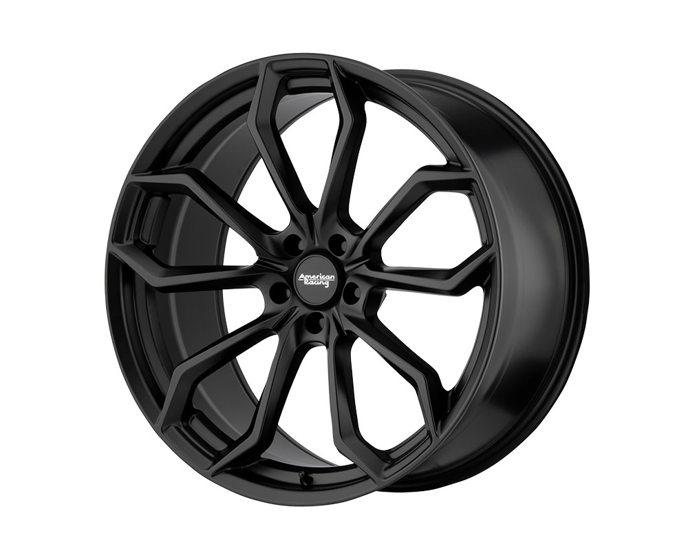 American Racing AR932 Splitter Wheel 22x10.5 5x5x115 +25mm Satin Black