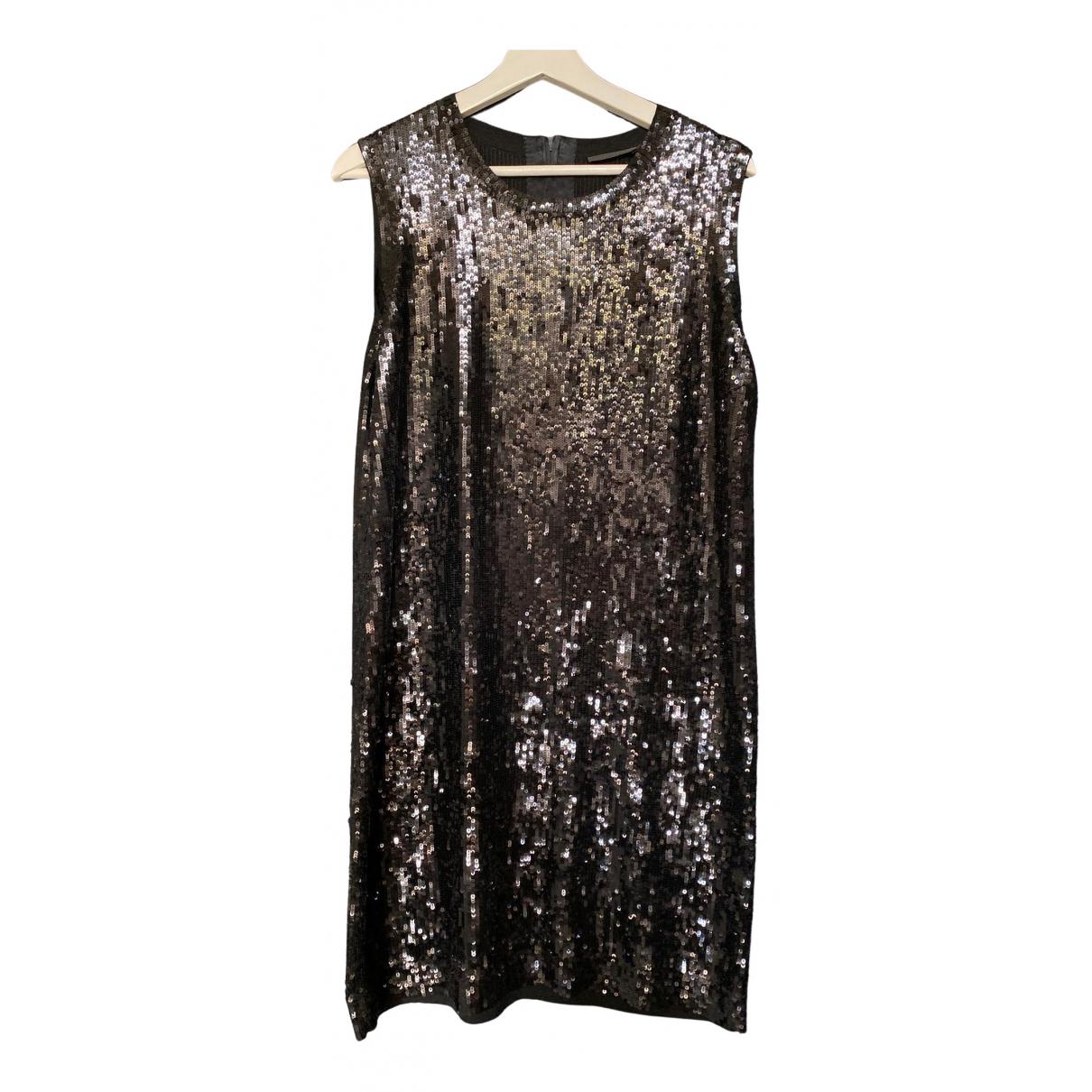 Donna Karan N Black Silk dress for Women L International