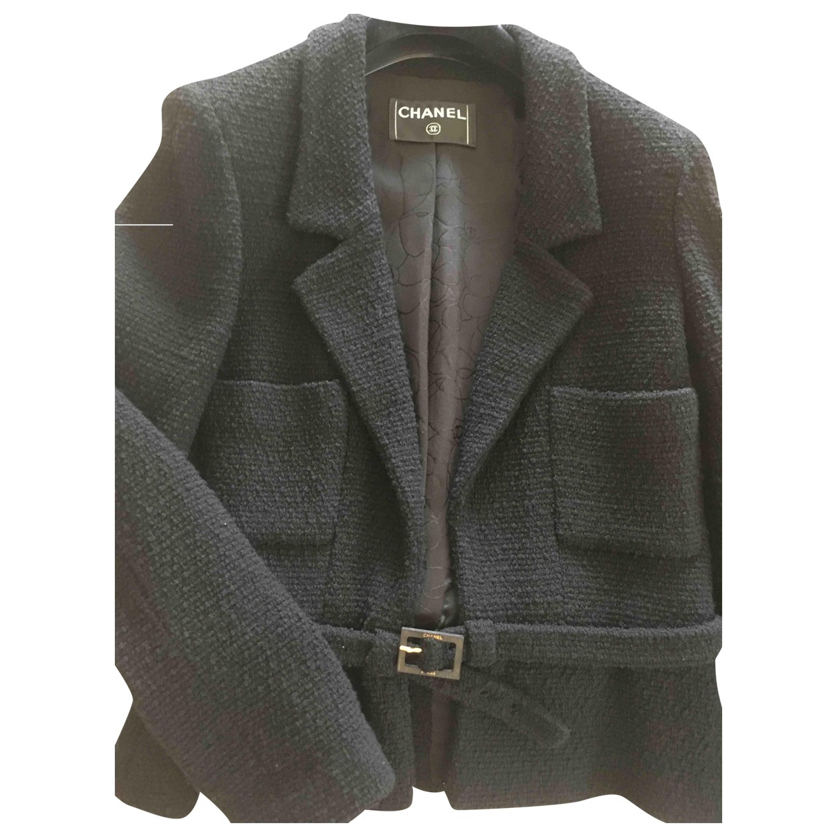 Chanel \N Black Wool jacket for Women 38 FR