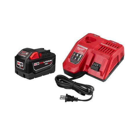 Milwaukee M18™ Redlithium™ High Demand™ 9.0Ah Battery and Charger Starter Kit