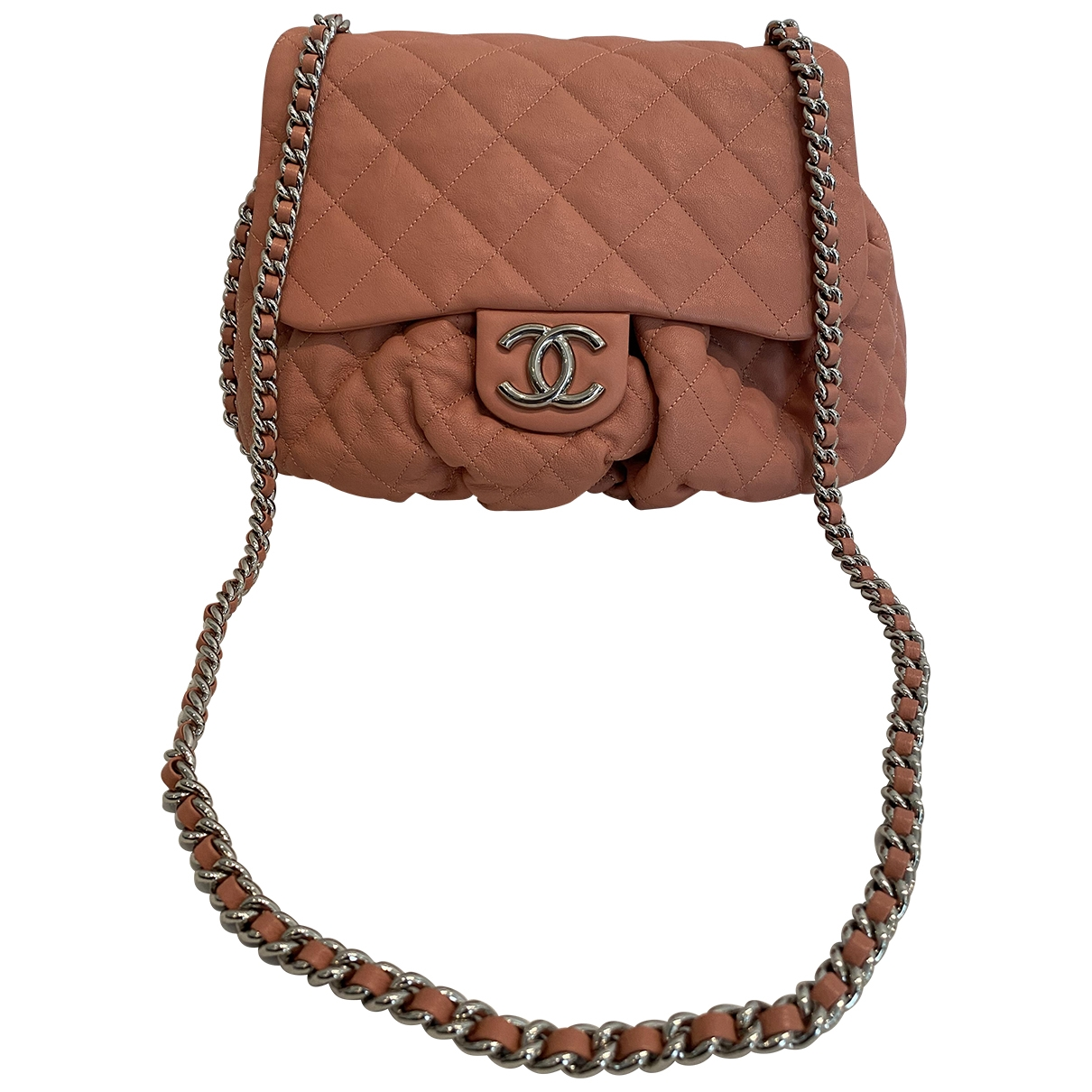 Bolso  Chain Around de Cuero Chanel