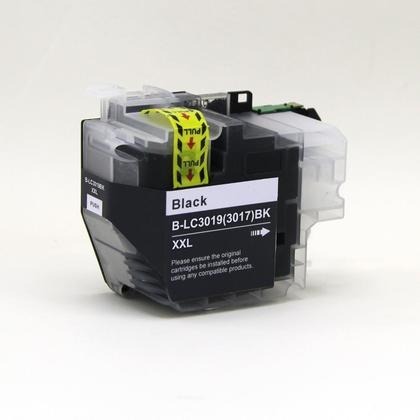 Compatible Brother LC3019XXL BK cartouche d'encre noire extra haute capacite
