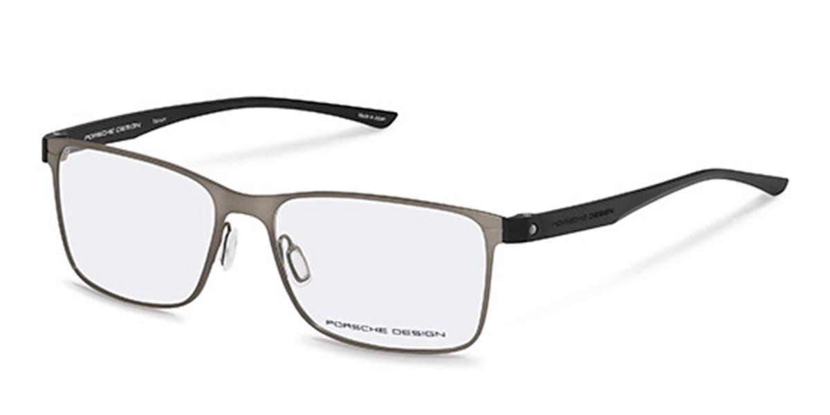 Porsche Design P8346 D Men's Glasses Grey Size 55 - Free Lenses - HSA/FSA Insurance - Blue Light Block Available