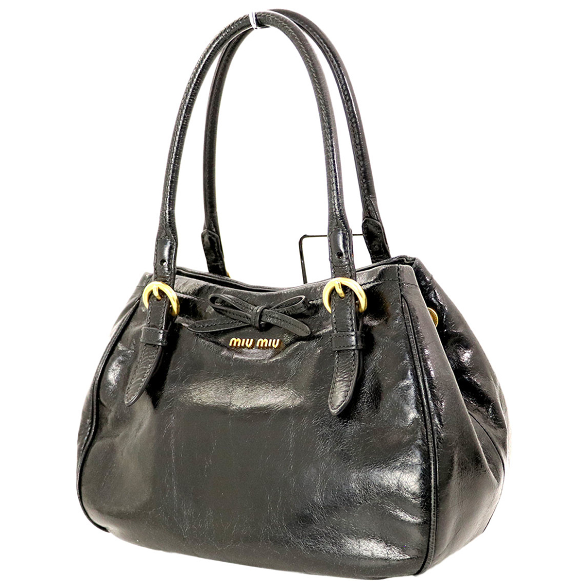 Miu Miu N Black Leather handbag for Women N