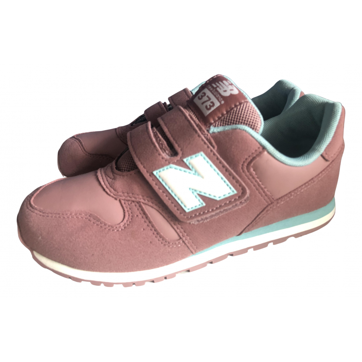 New Balance \N Sneakers in  Rosa Leder