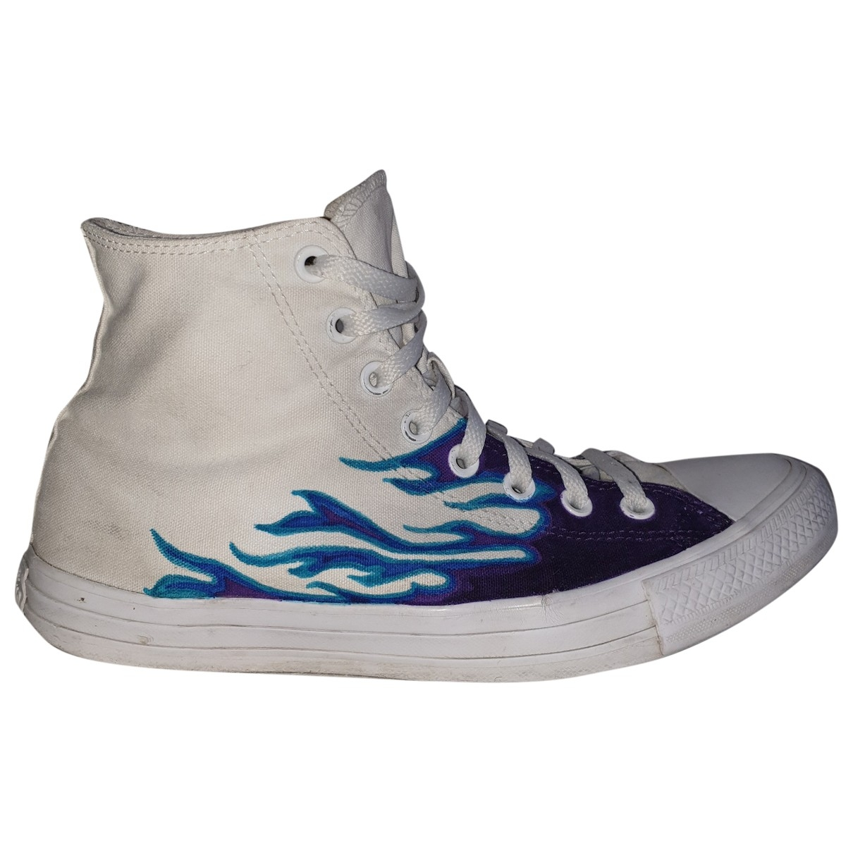 Converse \N White Cloth Trainers for Men 43 EU