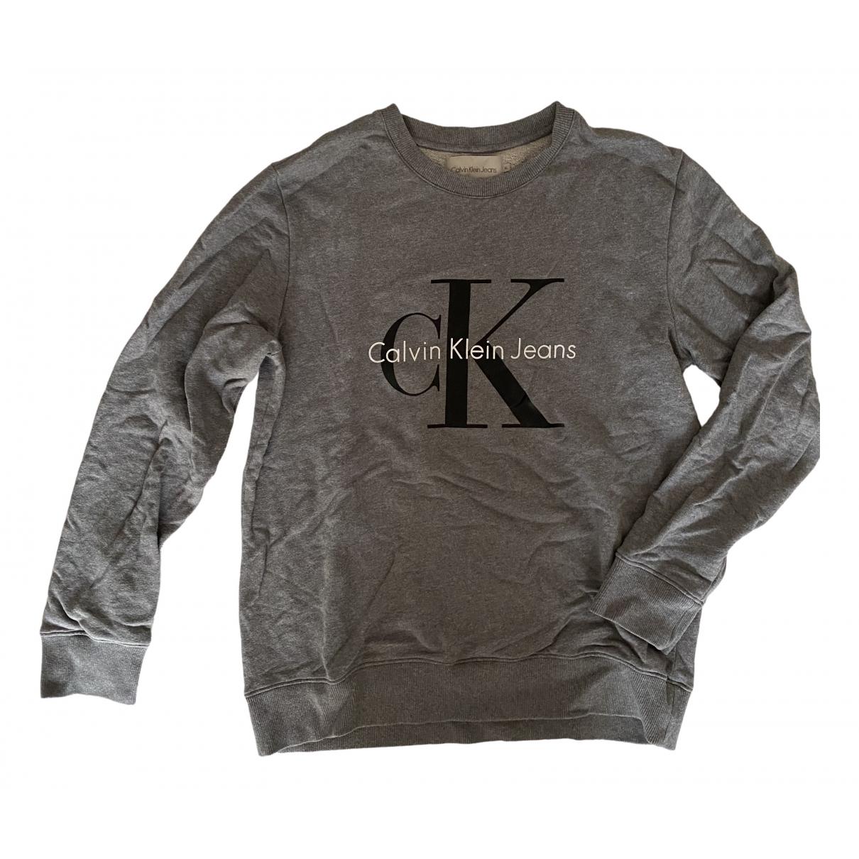 Calvin Klein - Pulls.Gilets.Sweats   pour homme en coton - gris